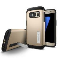 Galaxy S7 Case Slim Armor, Champagne Gold