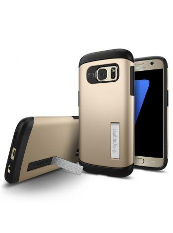 Galaxy S7 Case Slim Armor, Champagne Gold, 555CS20014