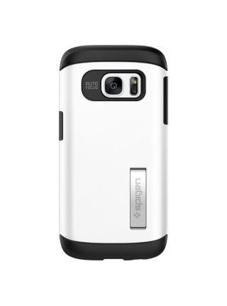 Galaxy S7 Case Slim Armor, Shimmery White