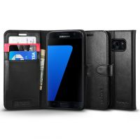 Чехол Galaxy S7 Case Wallet S, Black