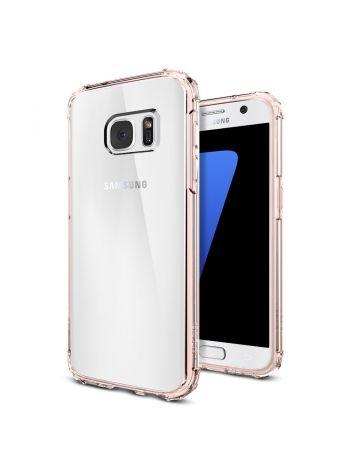 Чехол Galaxy S7 Crystal Shell, Rose Crystal, 555CS20099