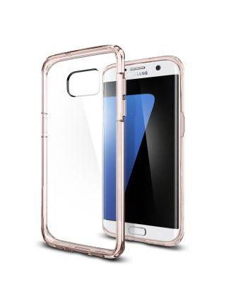 Чехол Galaxy S7 Edge Ultra Hybrid, Rose Crystal