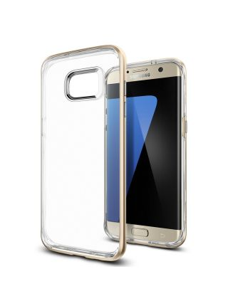 Чехол Galaxy S7 Edge Neo Hybrid Crystal, Champagne Gold