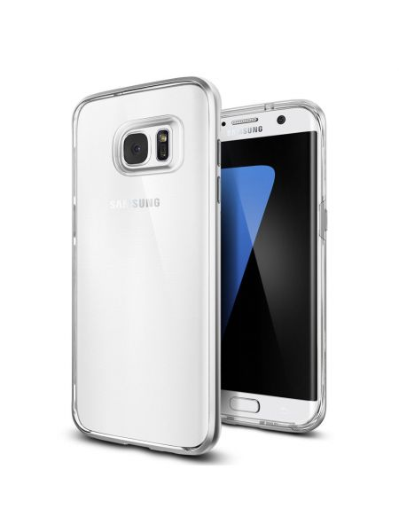 Чехол Galaxy S7 Edge Neo Hybrid Crystal, Satin Silver
