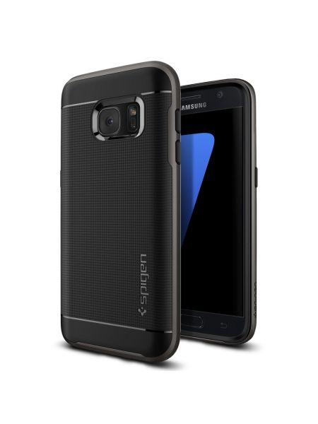 Чехол Spigen Neo Hybrid для Samsung Galaxy S7, Gunmetal