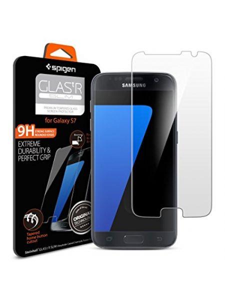 "Защитно стекло Spigen Glass ""GLAS.tR"" Slim для Samsung S7"
