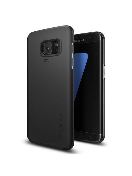 Чехол Spigen Thin Fit для Galaxy S7 Edge, Black