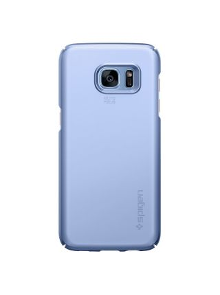 Чехол Spigen Thin Fit для Galaxy S7 Edge, Blue Coral