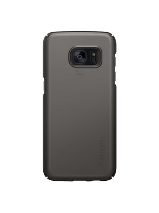 Чехол Spigen Thin Fit для Galaxy S7 Edge, Gunmetal
