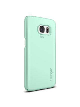 Чехол Spigen Thin Fit для Galaxy S7 Edge, Mint