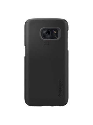 Чехол Spigen Thin Fit для Galaxy S7, Black