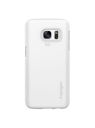 Чехол Spigen Thin Fit для Galaxy S7, Shimmery White
