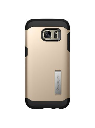 Чехол Galaxy S7 Edge Tough Armor, Champagne Gold
