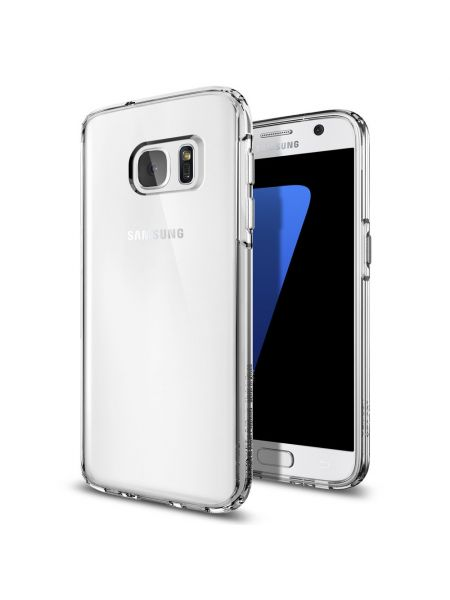 Чехол Spigen Ultra Hybrid для Galaxy S7, Crystal Clear
