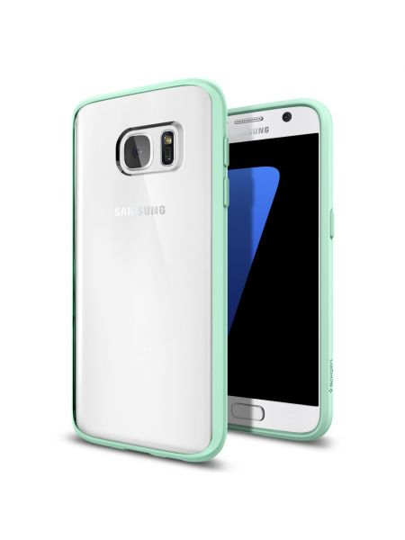 Чехол Spigen Ultra Hybrid для Galaxy S7, Mint