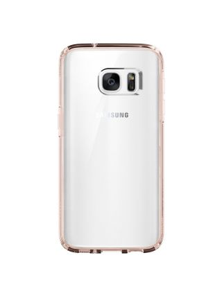 Чехол Spigen Ultra Hybrid для Galaxy S7, Rose Crystal