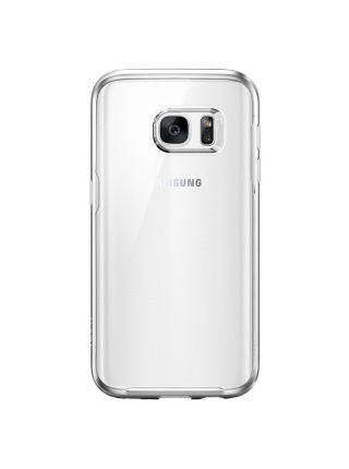 Чехол Spigen Ultra Hybrid для Galaxy S7, Satin Silver