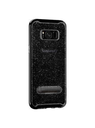 Чехол Crystal Hybrid Glitter Galaxy S8 Plus, Space Quartz