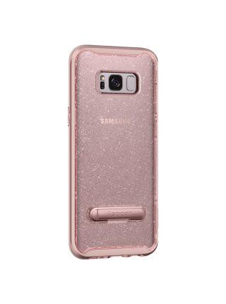 Чехол Crystal Hybrid Glitter Galaxy S8 Plus, Rose Quartz
