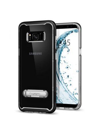 Чехол Crystal Hybrid Galaxy S8 Plus, Black, 571CS21126