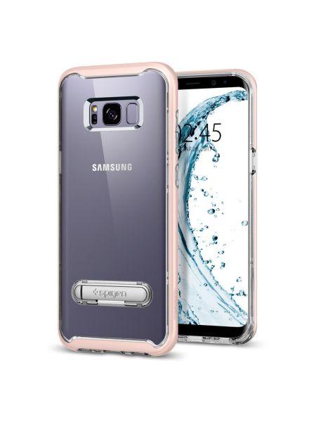 Чехол Crystal Hybrid Galaxy S8 Plus, Pink