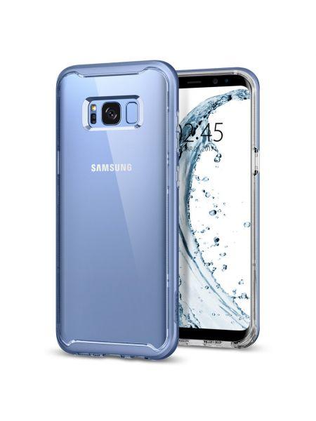 Чехол Galaxy S8 Neo Hybrid Crystal, Blue Coral