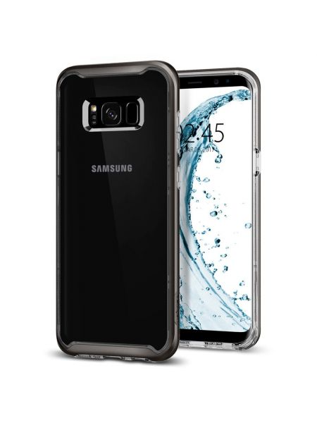 Чехол Galaxy S8 Neo Hybrid Crystal, Gunmetal
