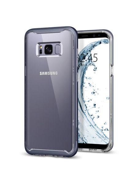Чехол Galaxy S8 Neo Hybrid Crystal, Orchid Gray