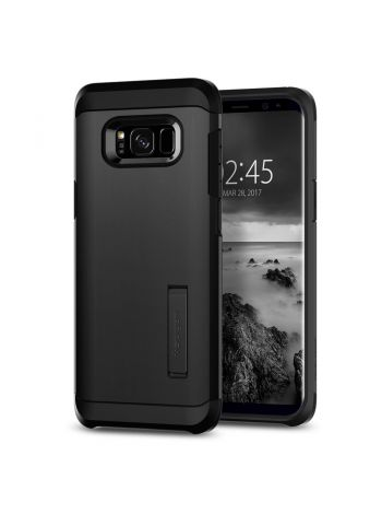 Чехол Tough Armor Galaxy S8 Plus, Black, 571CS21695
