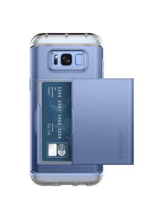 Чехол Crystal Wallet Galaxy S8 Plus, Blue Coral