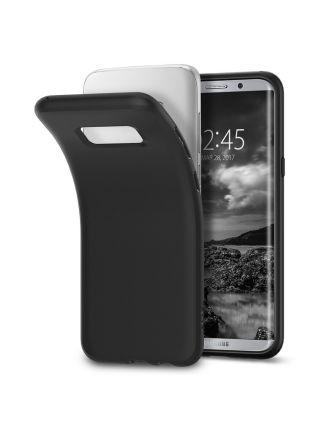 Чехол Galaxy S8 Liquid Crystal, Matte Black