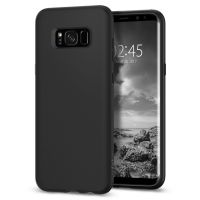 Чехол Galaxy S8 Liquid Crystal, Matte Black