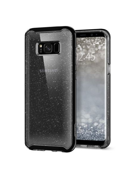 Чехол Galaxy S8 Neo Hybrid Crystal Glitter, Space Quart