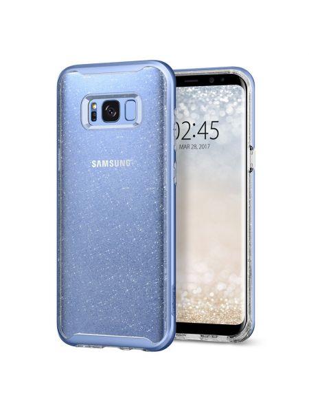 Чехол Galaxy S8 Plus Neo Hybrid Crystal Glitter, Blue Quartz