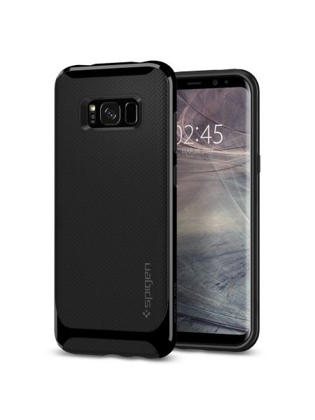 Чехол Neo Hybrid Galaxy S8, Shiny Black