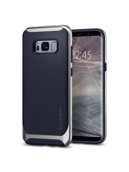 Чехол Neo Hybrid Galaxy S8 Plus, Silver Arctic