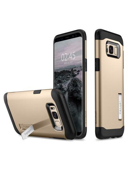 Чехол Slim Armor Galaxy S8 Plus, Gold Maple
