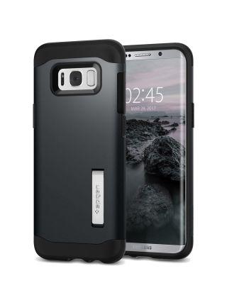 Чехол Slim Armor Galaxy S8 Plus, Metal Slate