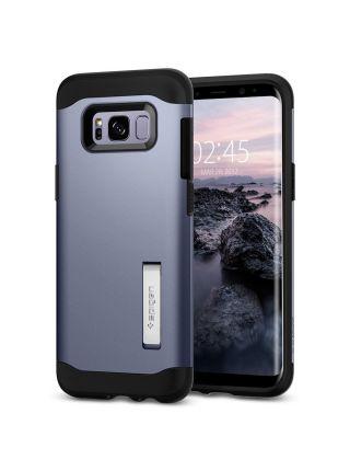 Чехол Slim Armor Galaxy S8 Plus, Orchid Gray