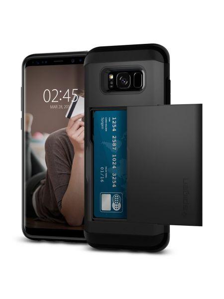 Чехол Spigen Slim Armor CS Galaxy S8 Plus, Black