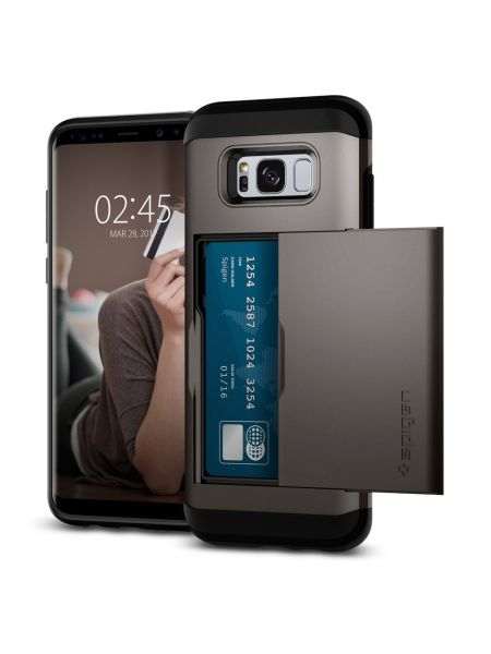 Чехол Spigen Slim Armor CS Galaxy S8 Plus, Gunmetal