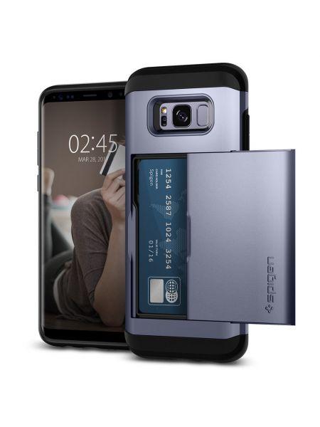Чехол Spigen Slim Armor CS Galaxy S8 Plus, Orchid Gray