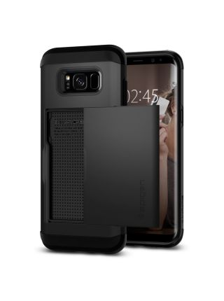 Чехол Spigen Slim Armor CS Galaxy S8 , Black