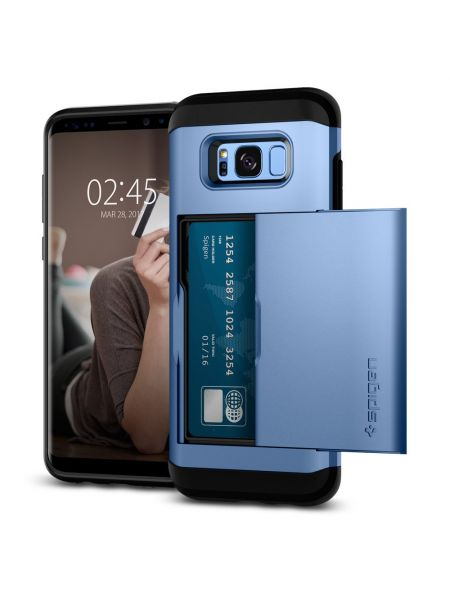Чехол Spigen Slim Armor CS Galaxy S8 , Blue