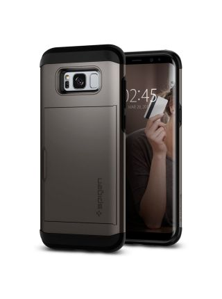 Чехол Spigen Slim Armor CS Galaxy S8 , Gunmetal