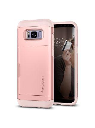 Чехол Spigen Slim Armor CS Galaxy S8 , Rose Gold