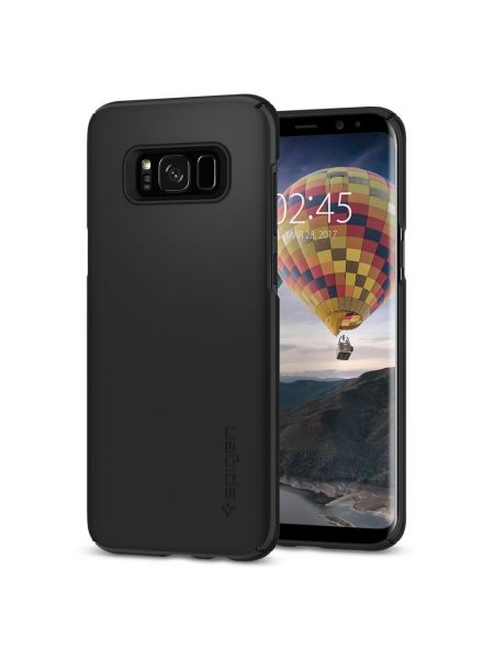 Чехол Galaxy S8 Plus Thin Fit, Black