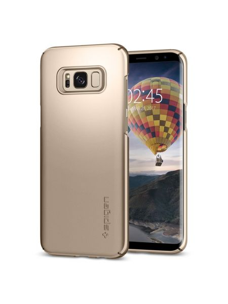 Чехол Galaxy S8 Plus Thin Fit, Gold Maple