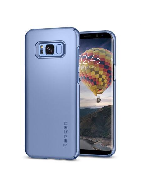 Чехол Spigen Thin Fit для Samsung S8, Blue Coral