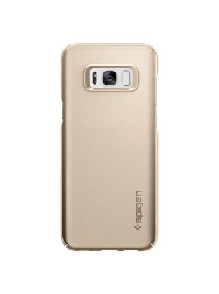 Чехол Spigen Thin Fit для Samsung S8, Gold Maple